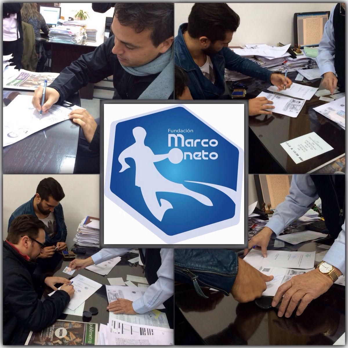 Creación de la Fundación Marco Oneto
