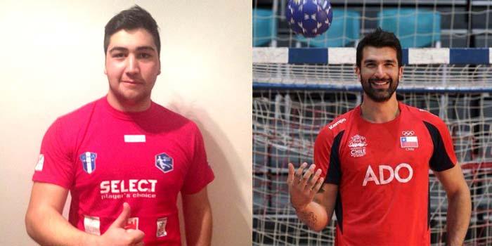 """El """"Tanque"""" de Chimbarongo parte a Europa para profesionalizar su carrera de balonmano junto a Marco Oneto"""
