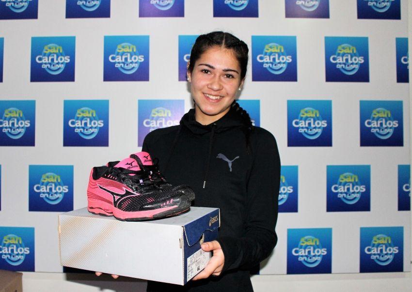 Tienda especializada acuerda respaldar la carrera de Fernanda Donoso
