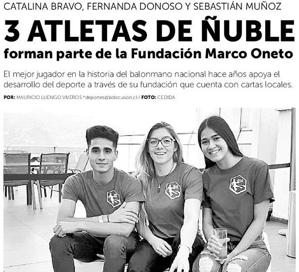 Nota en Diario La Discusión: