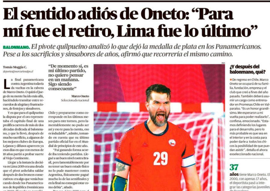 El sentido adiós de Oneto: «Para mí fue el retiro, Lima fue lo último»